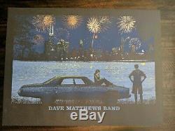 Dave Matthews Band 7/4/14 Chicago Fireworks Poster