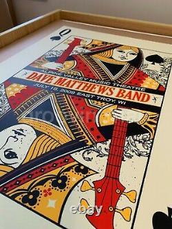 Dave Matthews Band ALPINE VALLEY MUSIC THEATRE 2009 QUEEN Poster #108/1050