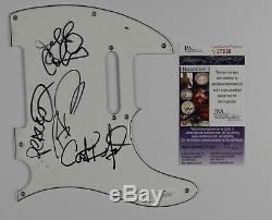 Dave Matthews Band Autograph Signed Guitar Guard Fender Tele JSA Pickguard
