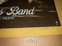 Dave Matthews Band Berkeley 2008 Sax Poster Methane Studios Rare Limited