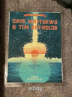 Dave Matthews Band CMAC Poster