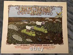 Dave Matthews Band Caravan Gorge WA Poster 2011 Spusta SIGNED