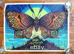 Dave Matthews Band Charlotte Gig Poster 2021 David Soto 558/800