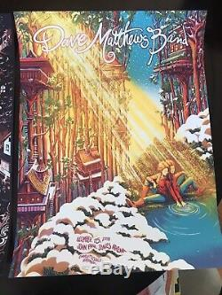 Dave Matthews Band Charlottesville 2018 Poster Set