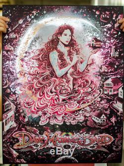 Dave Matthews Band Charlottesville Galaxy Foil Miles Tsang Gig Poster Print DMB