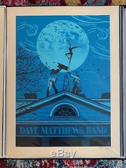 Dave Matthews Band, Charlottesville Poster, 2010, N1 Methane /650