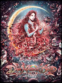 Dave Matthews Band Charlottesville Poster Print 2018 DMB Fall Tour Miles Tsang
