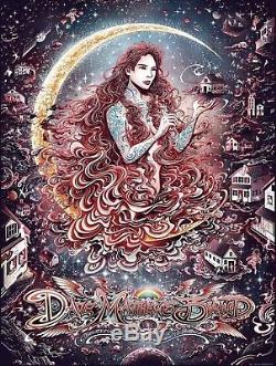 Dave Matthews Band Charlottesville, VA Poster Tsang (12/14/18) SOLD OUT! AP