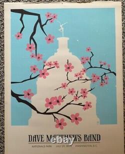Dave Matthews Band Cherry Blossoms Poster