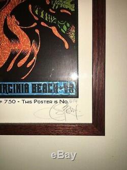 Dave Matthews Band Chuck Sperry Four (4) Poster Set, All Framed