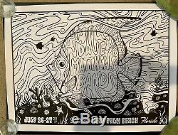 Dave Matthews Band Color Your Own Poster West Palm 2019 WPB with DMB Crayons