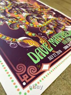 Dave Matthews Band DMB BIOJELLY Poster Drive-In Series #40 of 75 Ships Now