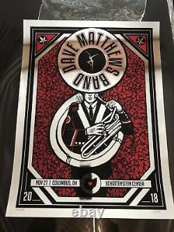 Dave Matthews Band DMB Columbus foil Ohio State X/30
