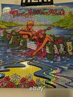 Dave Matthews Band DMB Everyday Poster Sun Rays HoloFoil 20/25 James Flames
