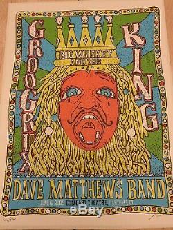 Dave Matthews Band DMB Hartford N2 6/6/2009 Grux Poster RARE Comcast Methane
