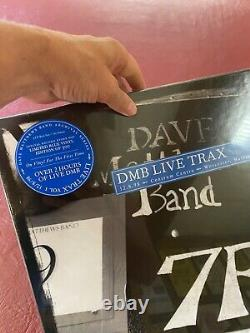 Dave Matthews Band DMB LIVE Trax Vol 1 Blue Vinyl 4 LP Numbered 2013 Sealed
