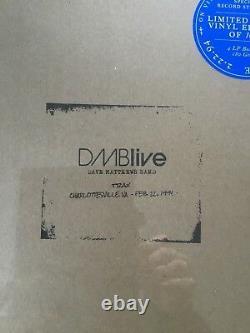 Dave Matthews Band DMB Live Trax 2.22.94 Charlottesville, VA RSD Vinyl LP