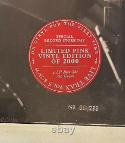 Dave Matthews Band DMB Live Trax Meadow Brook Fest LOW NUMBER Vinyl LP Box Set