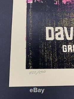 Dave Matthews Band DMB Los Angeles 2009 Greek Theatre Methane Poster # 422/500