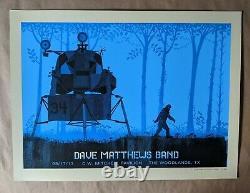Dave Matthews Band DMB Poster 5/17/13 CW Mitchell Pavilion Woodlands TX