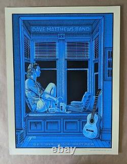 Dave Matthews Band DMB Poster 5/6/16 John Paul Jones Arena Charlottesville VA