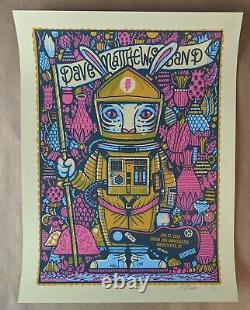 Dave Matthews Band DMB Poster 6/27/18 Darien Lake Performing Arts Center