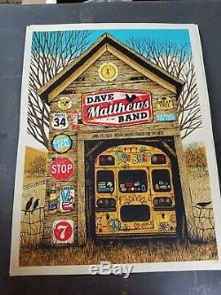 Dave Matthews Band DMB Poster Bethel Woods 6/19/19 not MSG SPAC Sperry