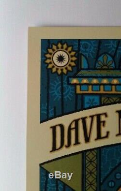 Dave Matthews Band Darien Center Poster 2010 Methane Fortune Teller Zoltar DMB