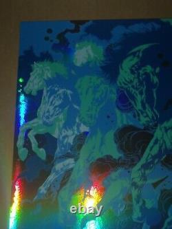 Dave Matthews Band Foil concert poster art print Gorge Ken Taylor DMB Quincy