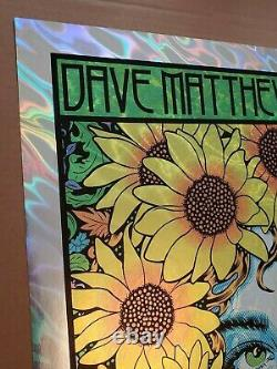 Dave Matthews Band Gorge Chuck Sperry LAVA FOIL VARIANT