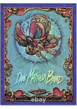 Dave Matthews Band Gorge Drive-In Poster Foil NC Winters 110/400 DMB IN HAND