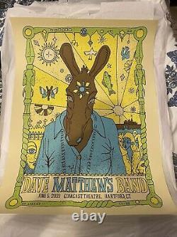 Dave Matthews Band Hartford 2009 Poster Set