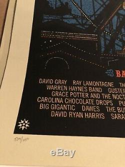Dave Matthews Band June 24-26 2011 Atlantic City NJ Poster Caravan DMB S/N