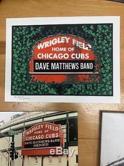 Dave Matthews Band Live At Wrigley Field Sept. 17-18 2010 Super Rare Collectors