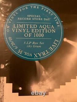 Dave Matthews Band Live Trax 35 Aqua Vinyl Limited to 1000 Copies Sealed