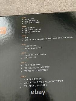 Dave Matthews Band Live Trax Vinyl RSD Vol. 4 Richmond Orange