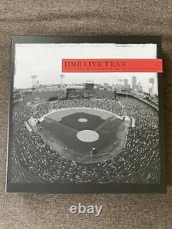 Dave Matthews Band Live Trax vinyl vol. 6 RED Fenway