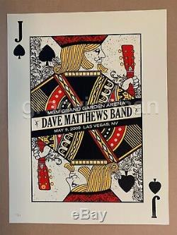 Dave Matthews Band MGM GRAND GARDEN ARENA Las Vegas 2009 JACK Poster #35/800
