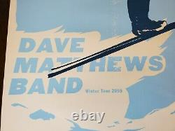 Dave Matthews Band MINNEAPOLIS MINNESOTA TARGET CENTER Winter 2005 Tour Poster
