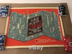 Dave Matthews Band Madison Square Garden N1 poster MSG 2018 11/29/18 Methane DMB