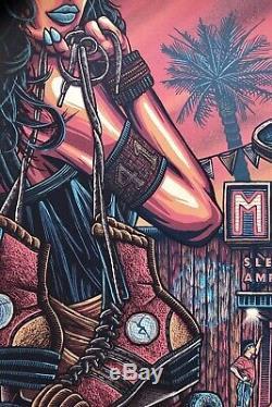 Dave Matthews Band Marysville CA 7/30/03 Drive-In Poster Luke Martin