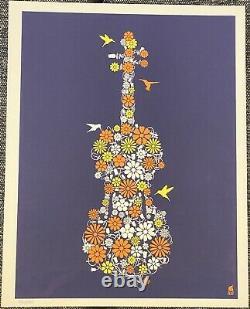 Dave Matthews Band Methane Flower Power Poster Set 2012 Matching Number Set