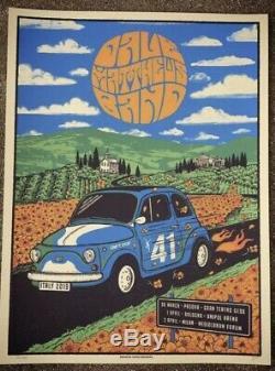 Dave Matthews Band Milan Padova Italy 2019 Signed Poster #/460 Justin Helton