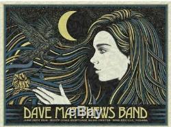 Dave Matthews Band N2 Poster Noblesville Indiana 6/29/19 Deer Creek Ruoff Slater