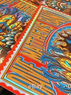 Dave Matthews Band Nashville Rainbow Signed Edition of 50 Bioworkz Poster