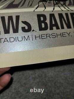 Dave Matthews Band Poster 10 Hershey PA Rook Numbered 822 /1250 Chess