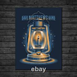 Dave Matthews Band Poster 12/7/2018 Boston MA Signed & Numbered #60 A/E