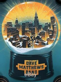 Dave Matthews Band Poster 2002 Madison Square Garden MSG NY S/N NYC DMB