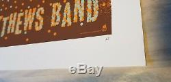 Dave Matthews Band Poster 2005 Boston, MA Methane Artist Proof Rare! Sold Out