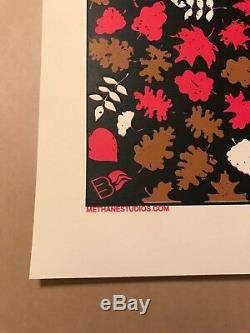 Dave Matthews Band Poster 2007 Izod Center East Rutherford NJ AP Red